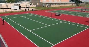 Refurbishment and New Construction of Sports Courts