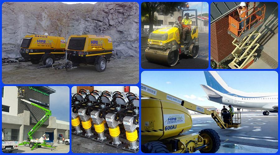 Hiring and sales of construction machinery