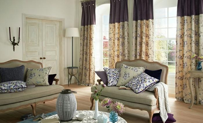 Upholstery, designing and installations of curtains, blinds and wallpaper