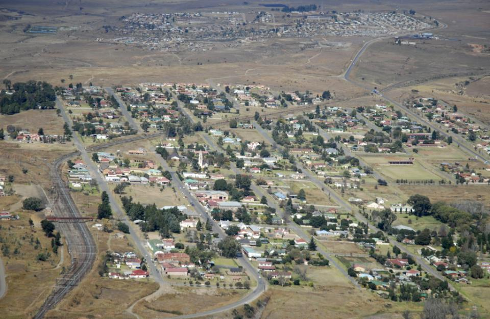 a Small Highveld town that is self managed