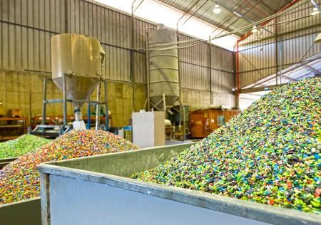 Plastic recycling company making use of state of the art technology and equipment