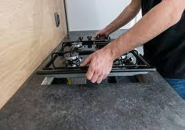 Gas appliance supply and Fitment