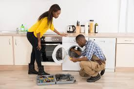 Kitchen appliance repairs and services and sale of spares.